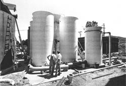 Construction of Las Gallinas Valley Reclamation Plant (1989)