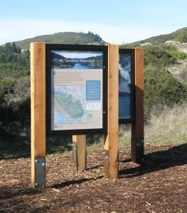 Carson Falls Project kiosk