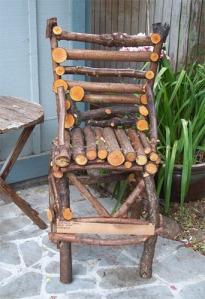homemade chair
