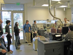 Water quality lab tour