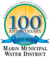 MMWD centennial logo