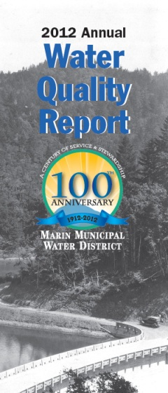 Annual Water Quality Report cover