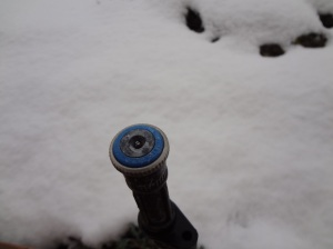 matched precipitation rotator in snow
