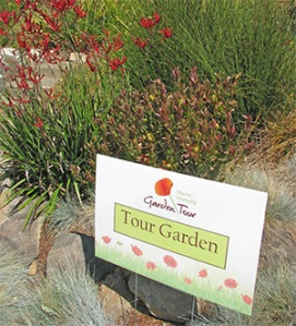 Marin-Friendly Garden Tour sign