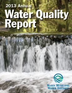 Marin Municipal Water District Annual Water Quality Report 2013