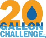 20 Gallon Challenge logo
