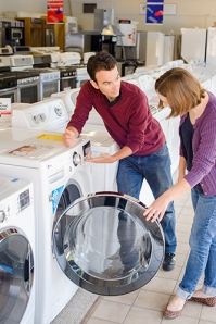 shopping for a high-efficiency clothes washer