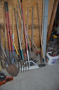 Photo of Jack's landscape tools