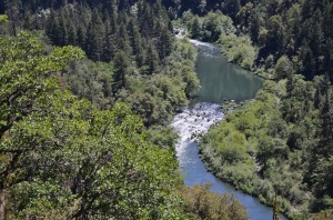 The Pit River, tributary to the Sacramento