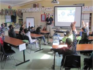 MMWD classroom presentation